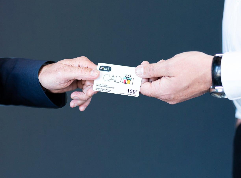 carte cadeau illicado de 150 euros offerte