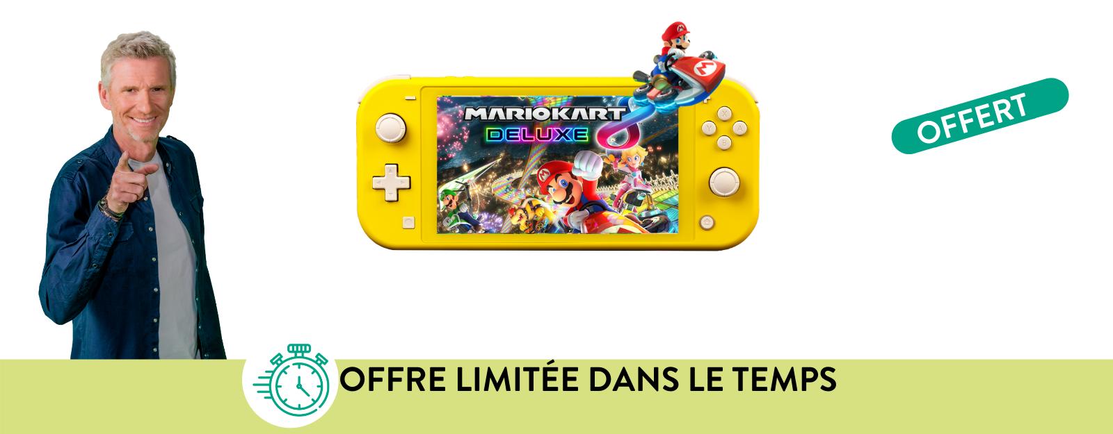 L'offre du moment : Nintendo Switch Lite + des surprises !