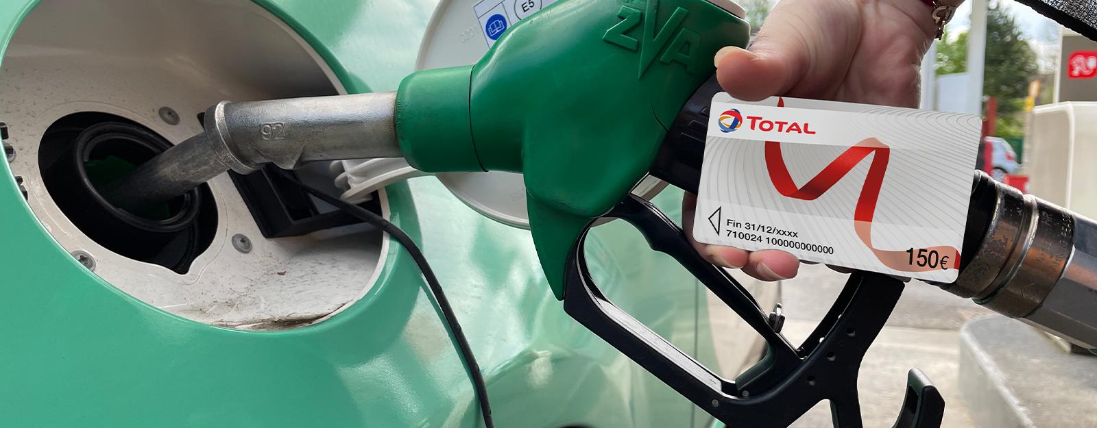 Carte carburant Total de 150€ offerte pour tout remplacement de pare-brise !